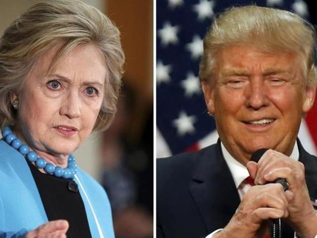 US presidential elections,Hillary Clinton,Donald Trump