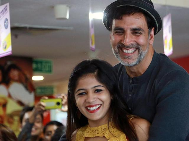 Akshay Kumar was at the Hindustan Times House in Delhi to promote his upcoming  film Rustom on Wednesday.