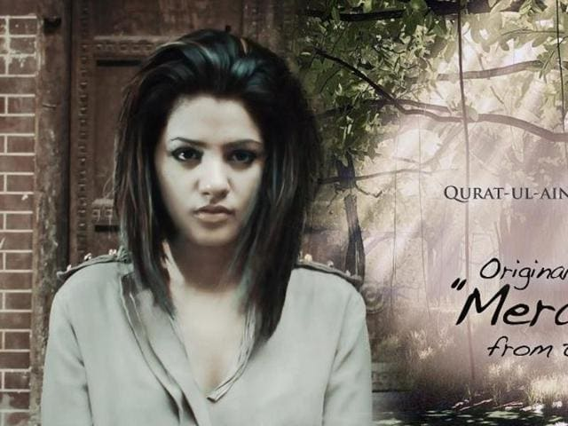 Qurat-ul-Ain Balouch sang the title track of Fawad Khan starrer Pakistani TV serial, Humsafar.