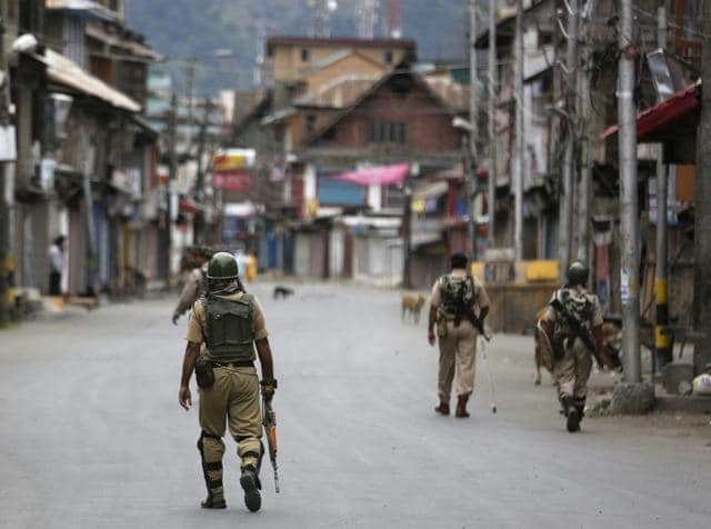 Paramilitary forces have patrolled the streets of Srinagar for a month now, enforcing curfew in the strife-torn Kashmir valley where protesters have clashed with security agencies over the killing of Hizbul Mujahideen Burhan Wani.