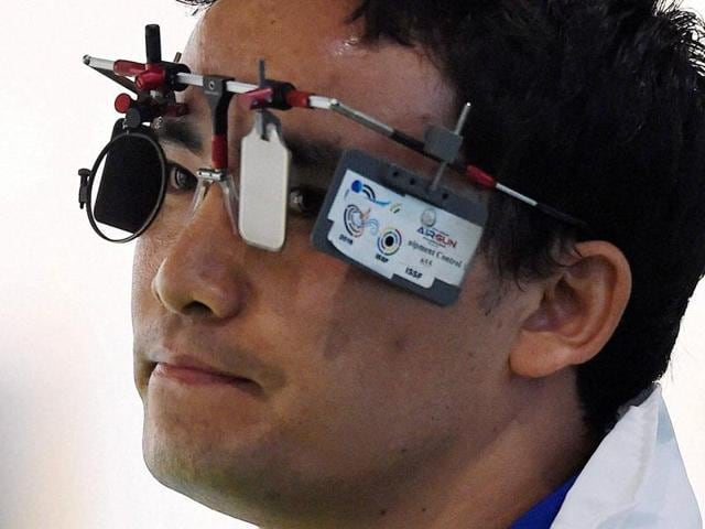 Jitu Rai is ranked third in the world in men's 50m pistol , and a lot was expected of him in Rio.