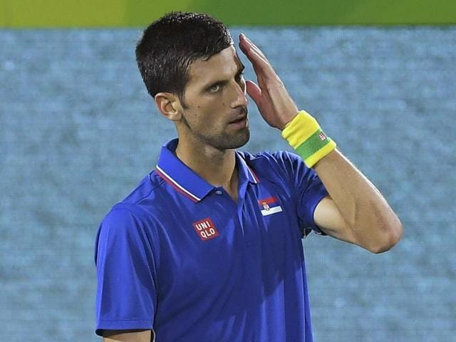 Djokovic's first-round loss at Rio left him in tears.