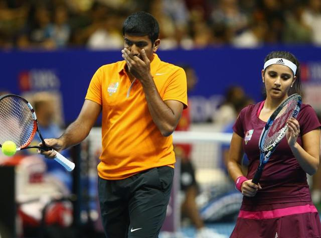 India's Rohan Bopanna and Sania Mirza have a relatively easy opener against the Aussie pairing of Samantha Stosur and John Peers.