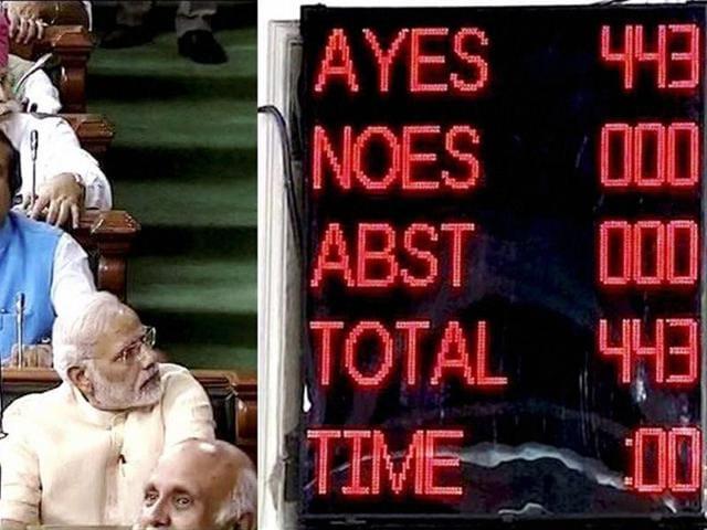 PM Modi,GST bill passed,Arun Jaitley