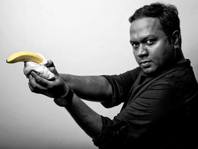 Meet actor-writer Biswapati Sarkar, who pokes fun at Arnab Goswami for a living