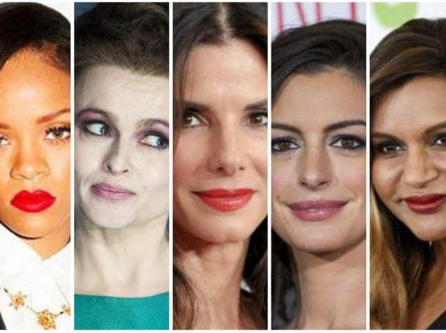 Rihanna, Bonham Carter, Bullock, Hathaway, Kaling!
