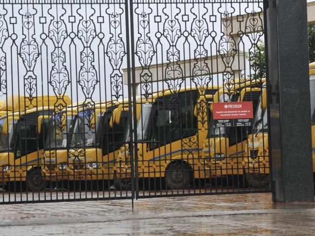 The alleged molestation of a four-year-old girl in a moving bus of Presidium school has exposed the vulnerability of children to untoward incidents  after parents see them off in school buses.