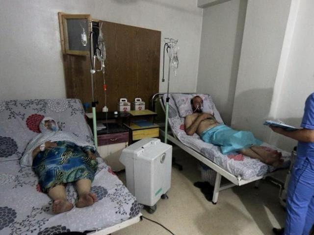 Syria,Gas attack,Aleppo
