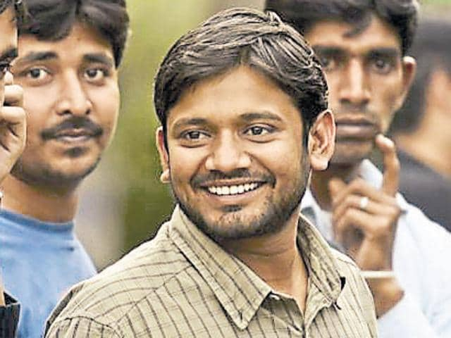 File photo of JNU students' union president Kanhaiya Kumar. The Delhi HC on August 11, 2016, dismissed petitions filed against interim bail granted to Kumar in a sedition case.