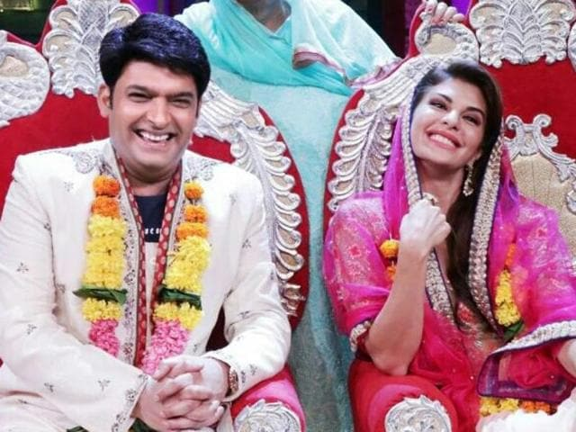 Kapil's most cherished dream came true recently on the sets when Jacqueline Fernandez agreed to marry him!