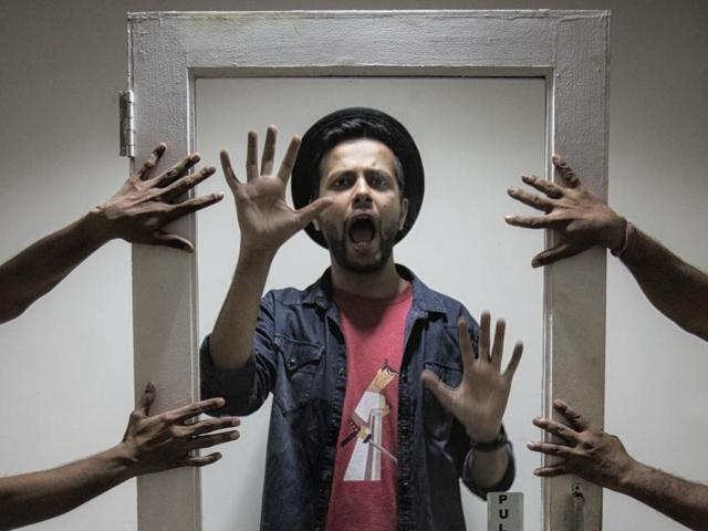 Verma is touring the country with his first solo special — Obsessive Comedic Disorder (OCD)(Photo: Aalok Soni/HT)