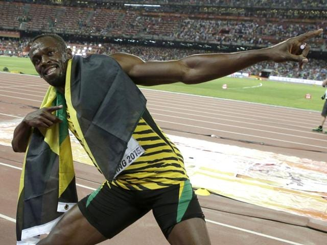 29-year-old Usain Bolt will attempt to win the 100m, 200m and 4x100m relay titles for a third straight Games before bidding farewell from the Olympic stage in Rio.