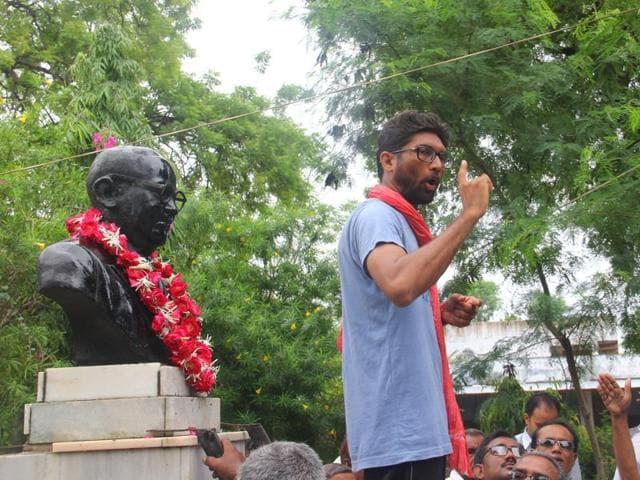 Dalits protest in Una, Gujarat, on July 31
