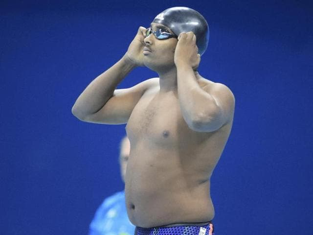 Ethiopia's Robel Kiros Habte (in picture) evoked memories of 'Eric the Eel,' the dashing no-hoper who flopped around like a freshly caught tuna at the 2000 Sydney Games, with his performance in the men's 100m freestyle heats.