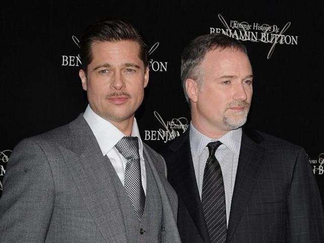 Actor Brad Pitt and director David Fincher have worked together previously on Se7en, Fight Club and The Curious Case of Benjamin Button.