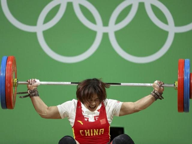 Xiang Yanmei of China lived up to the 'no pain, no gain' saying.