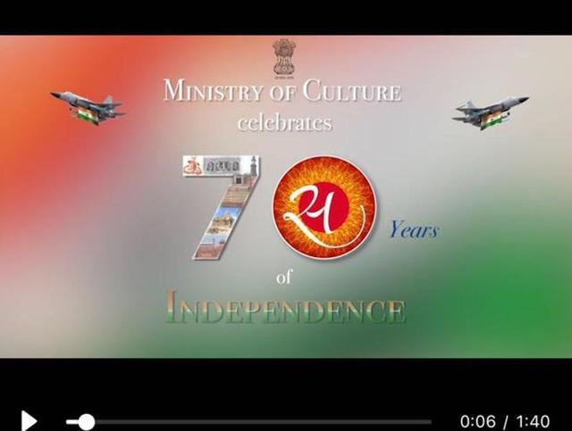 Culture ministry embarrassed as its video features