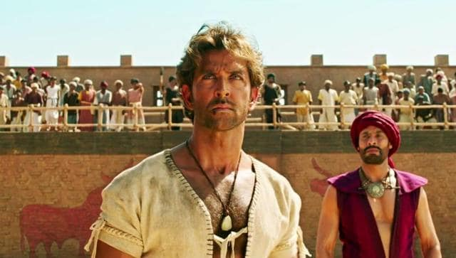 Hrithik Roshan pours his soul into every scene but is unable to leave a mark.