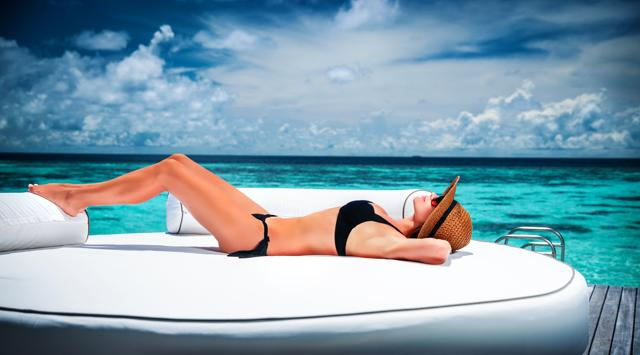 There's no better way to get some Vitamin D than naturally from the source