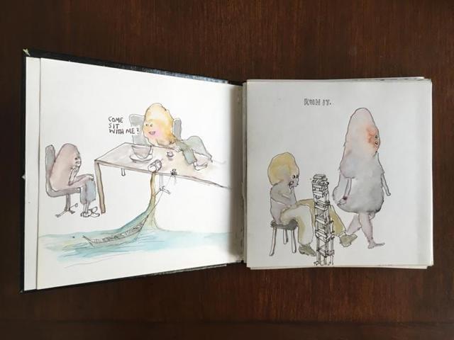 Doodles,Artists and sketchbooks,Prashant Miranda
