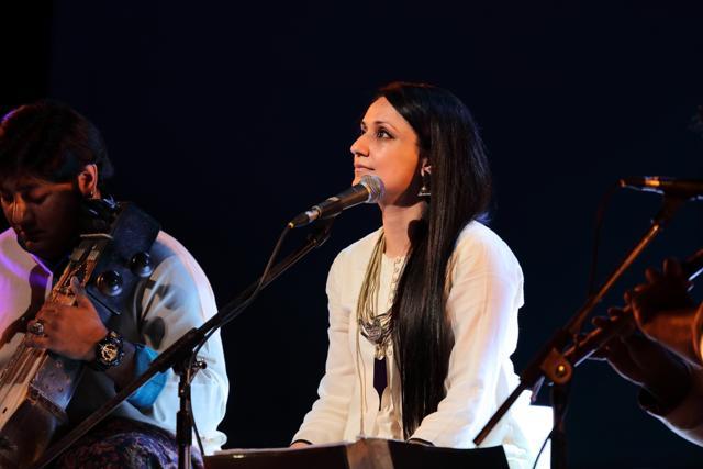 Singer-composer Sonam Kalra in concert.