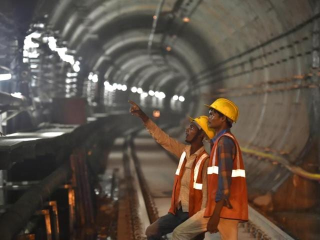Underground sections in Phase III of Delhi Metro from Central Secretariat to Kashmere Gate (Line 6), Majlis Park to Shiv Vihar (Line 7) and Janakpuri West to Kalindi Kunj (Line 8) will be soundproof.