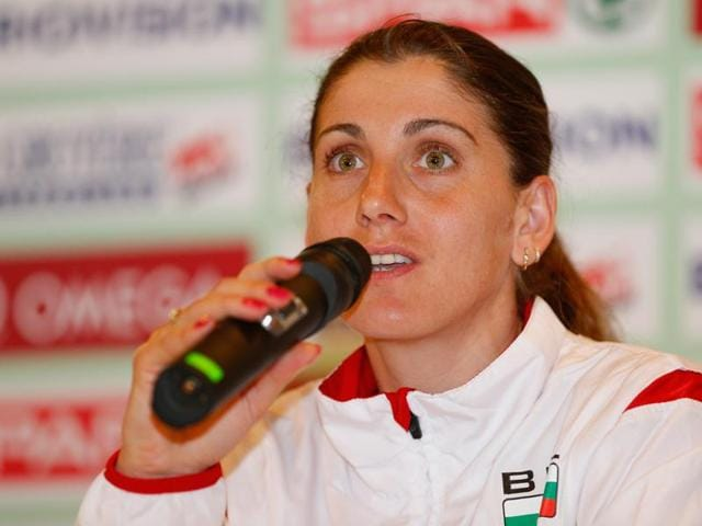 Silvia Danekova was due to compete in the women's 3000m steeplechase.
