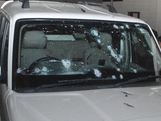 Brijpal Teotia,BJP leader shot,Muradnagar