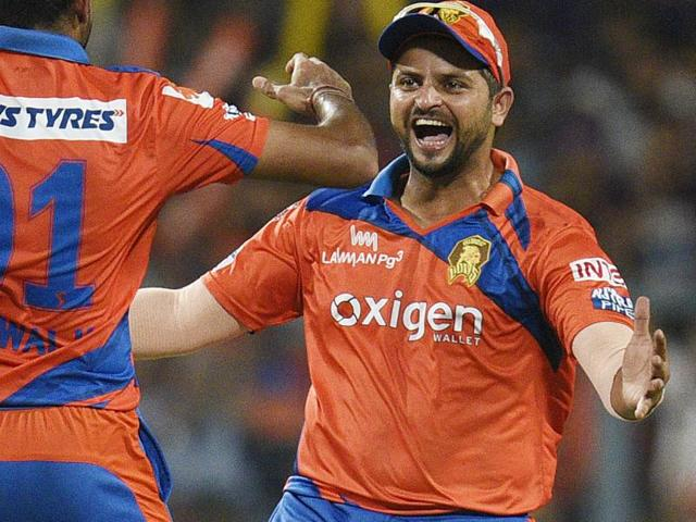 Suresh Raina (right), leading Gujarat Lions in the IPL here,  has surprisingly been omitted for the two Twenty20 Internationals against West Indies to be played in Florida on August 27 and 28.