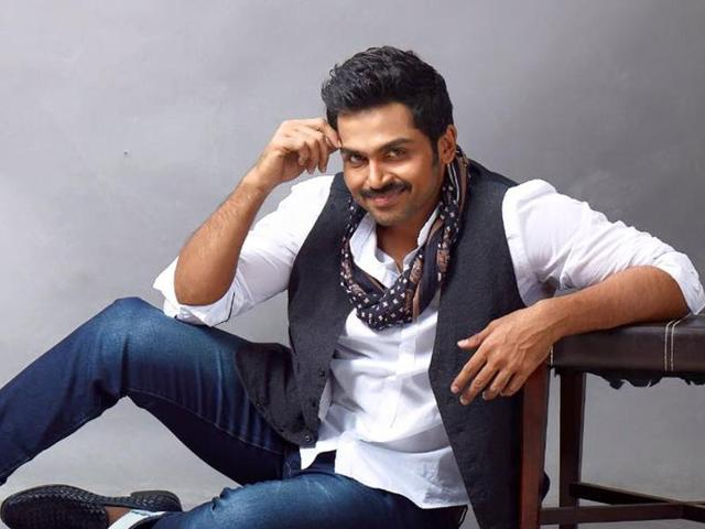 Karthi will sport a clean-shaven look for most parts of the film. However, in some crucial scenes, he will have a stubble.
