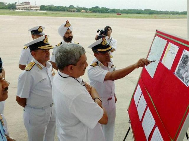 Miising IAF aircraft