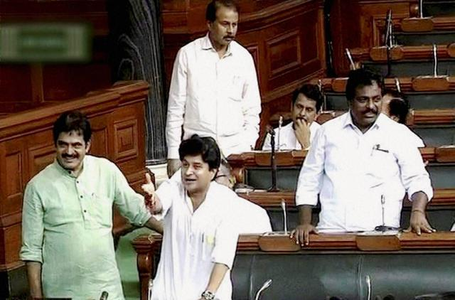 Jyotiraditya Scindia,Lok Sabha,Dalits