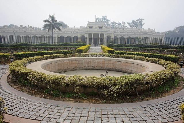 Delhi University Viceregal Lodge.