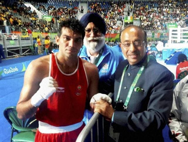 Rio organisers have warned Vijay Goel that his privileges will be withdrawn if people accompanying him do not end their aggressive and rude behaviour.