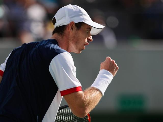 Rafael Nadal of Spain celebrates his win over Gilles Simon of France on Thursday.
