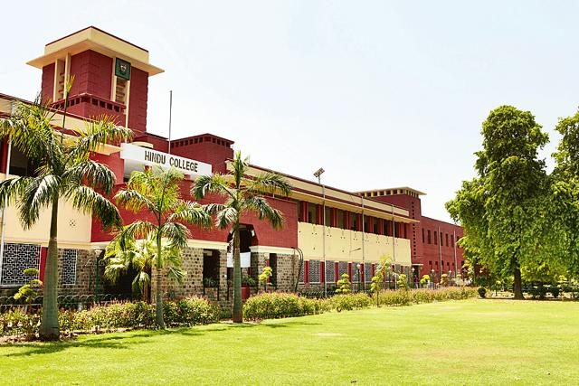 Hindu College was set up in 1899 as an alternative to St Stephen's college t hat catered to the elite.
