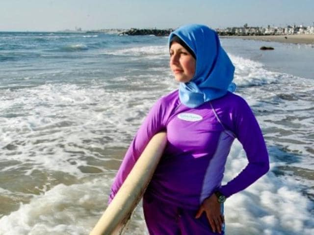 The French resort of Cannes has banned full-body, head-covering swimsuits from its beaches.