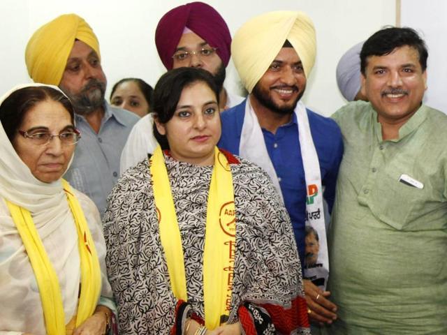 AAP,Aam Aadmi Party,Sanjay Singh