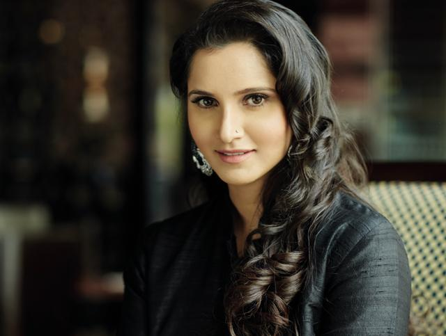 """I can laugh things off now,"" says Sania Mirza, when asked if things still get on her nerves."