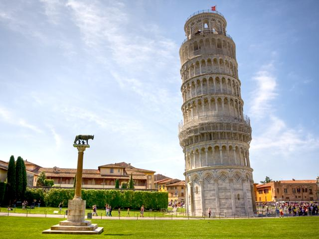 Leaning Tower of Pisa. According to media reports, Tunisian was arrested in Italy after he posted messages on social media saying he would attack the tourist attraction.