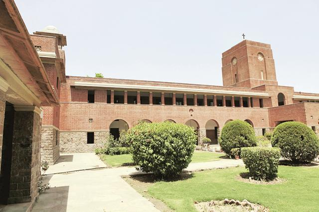 It was in the year 1882 that Punjab University was founded and St Stephen's College became affiliated to it.