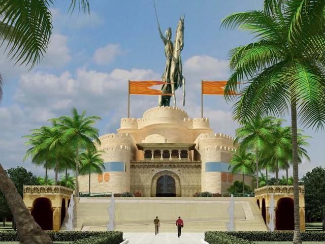 Shivaji memorial,Mid-sea memorial,Arabian sea memorial