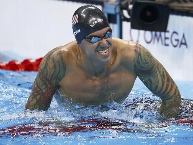Anthony Ervin gave up competitive swimming in 2003 but returned for the 2012 Games in London.