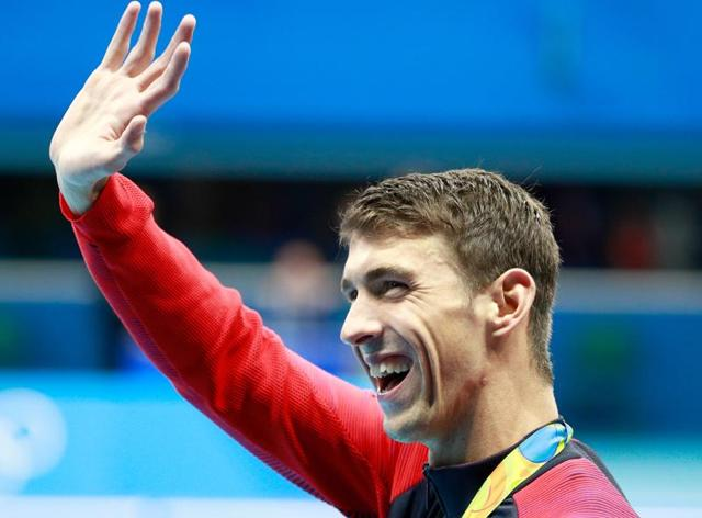 Michael Phelps said in 2012 he was retiring but he came back for one last hurrah after feeling he wanted to bow out on his own terms.