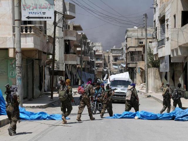 Civil war in Syria,Islamic State,Manbij