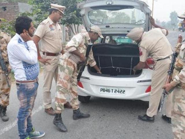 Security agencies,high alert,Punjab