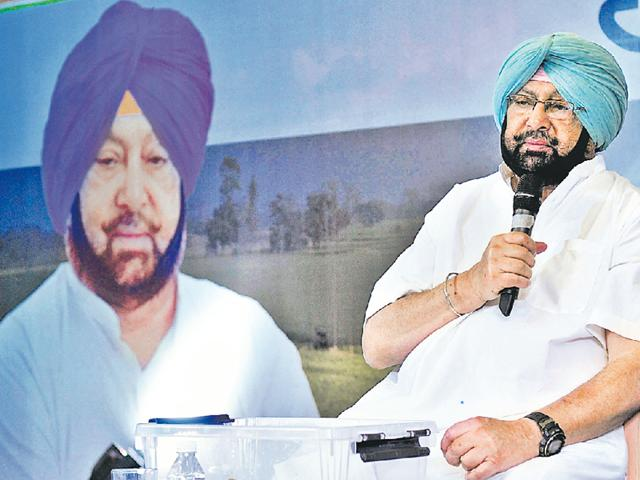Amarinder, now 74, is covering four constituencies per week to complete all 117 till the first week of October before he embarks on yet another campaign designed by poll strategist Prashant Kishor.