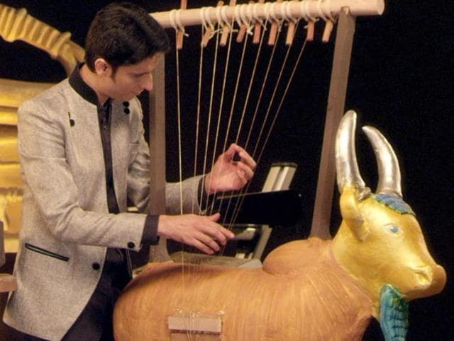 Indian researcher and musicologist Shail Vyas claims to have recreated musical instruments that existed during the Indus Valley Civilisation.
