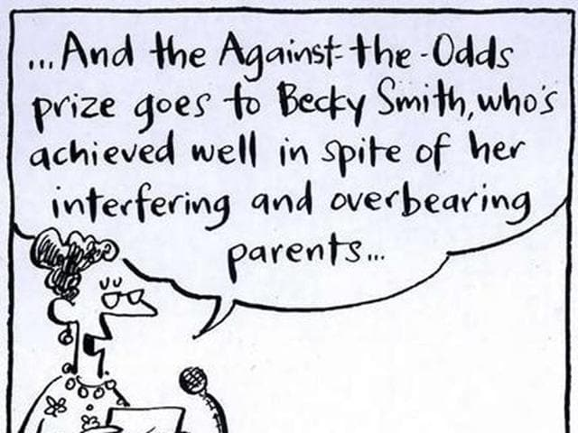 The aggressive and pushy behaviour of some parents hasn't seemed to change over time.