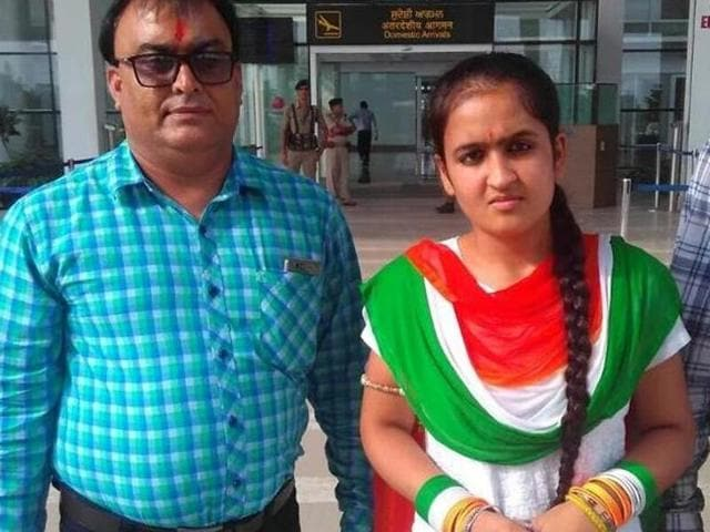 Jhanvi Behal had arrived at the airport accompanied by almost 35 others but was turned back.